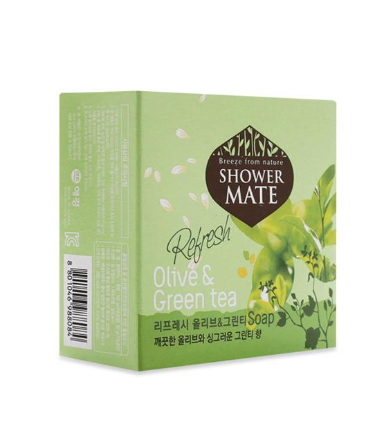 Xà bông tắm Showermate (Tinh chất Olive& trà xanh)