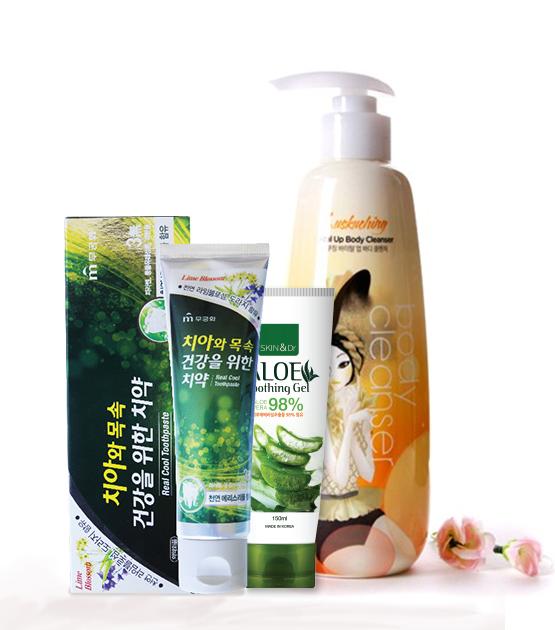 Combo Dịu Dàng - Kem đánh răng Xyldent Cool Fresh + Sữa tắm Classimo Body Shower Whitening Gel