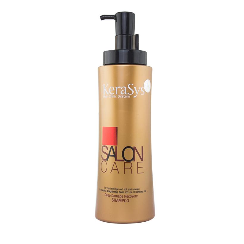 Dầu gội Kerasys Salon care (phục hồi tóc hư tổn nặng) 600ml