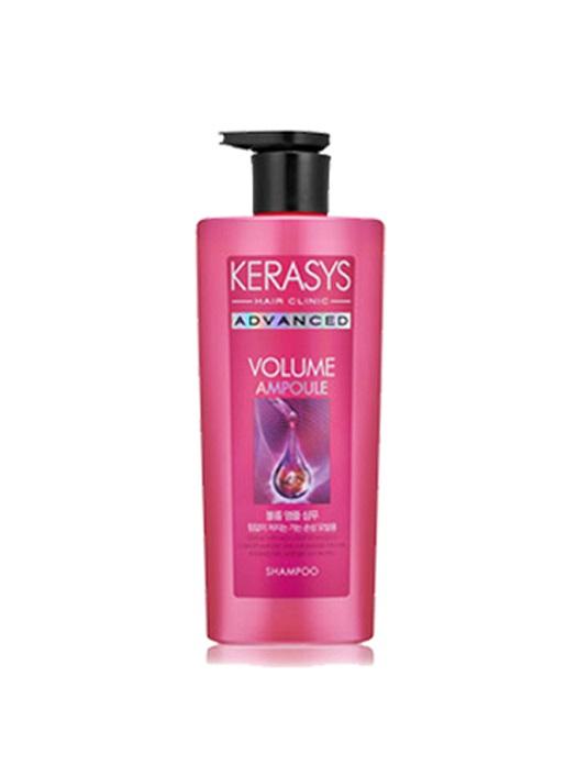Dầu gội KERASYS ADVANCED VOLUME AMPOULE (Chăm sóc chuyên sâu_Collagen phục hồi tóc chắc khỏe)