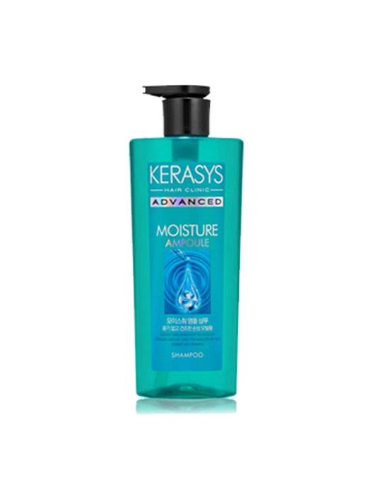 Dầu gội KERASYS ADVANCED MOISTURE AMPOULE (Chăm sóc chuyên sâu_Dưỡng ẩm sâu cho tóc khô xơ)