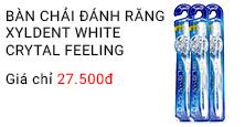 Bàn chải đánh răng Xyldent White Crytal Feeling